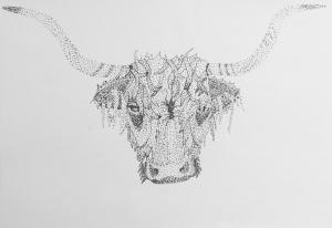 Scottish HighlanderTattoo Design VeraK Illustration